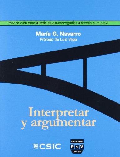 INTERPRETAR Y ARGUMENTAR