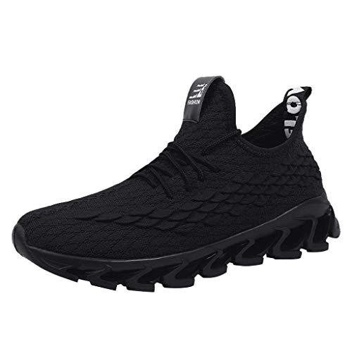 Jimmackey- Scarpe Sneakers Sport Calzature Traspiranti Scarpe Casual Yoga Viaggi di Equitazione Ginnastica Fitness Jogging Walking Prodotti Outdoor Scarpe da Corsa