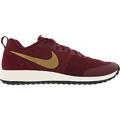 Nike Men's Elite Shinsen Team Red, Metallic Gold and Black Running Shoes -9 UK/India (44 EU)(10 US)