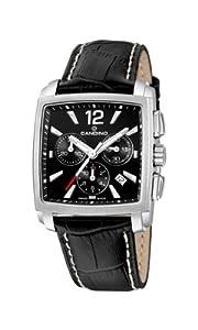 Candino 4374/2 - Reloj de caballero de cuarzo, correa de piel color negro de Candino