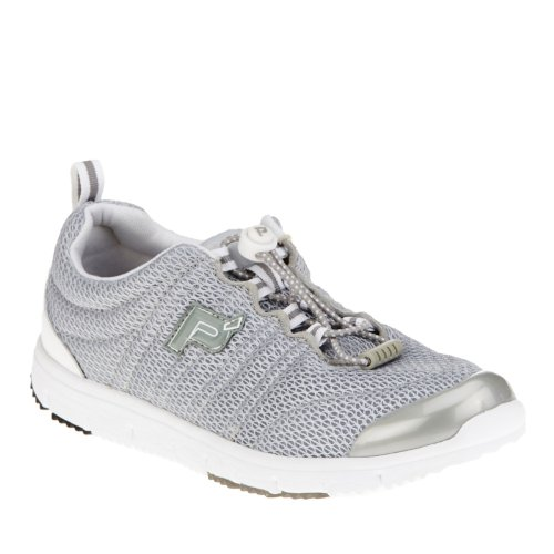 Propet Travel Walker II Elite Large Synthétique Chaussure de Marche silver