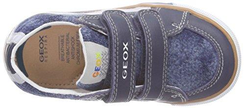 Geox B Kilwi Boy Baby Jungen Lauflernschuhe Blau (Jeans/greyc4381)