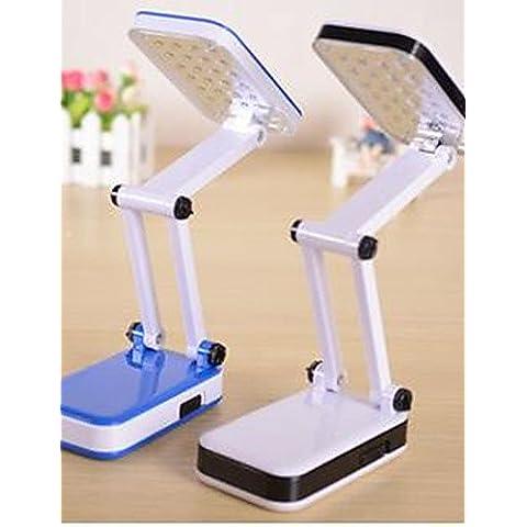 GJY-Lampade da tavolo - Moderno/contemporaneo - DI Plastica - LED/Ricaricabile/Protezione occhi , 220-240v-white