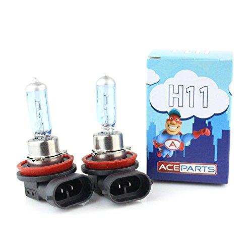 55w Tint Ultra Bright Xenon Upgrade HID Front Fog Lamp Light Bulbs Pair