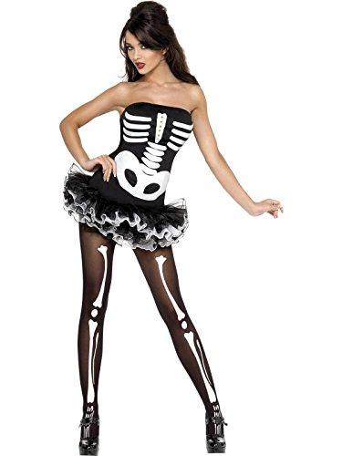 Halloween Sexy Kostüme (Sexy Halloween Skelett-Kostüm für Damen)