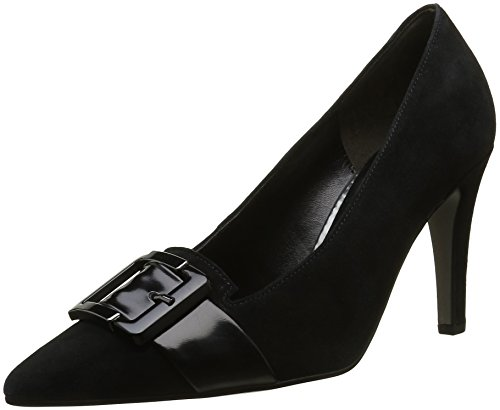 Gabor Shoes Fashion, Scarpe con Tacco Donna Nero (schwarzaltsilber)