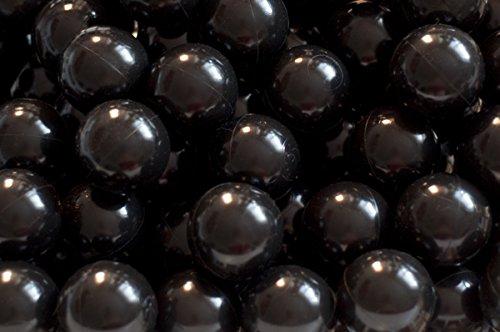 aussergewoehnlich® 500 PE Bälle schwarz für Teichabdeckung 6 cm - Winterschutz für Koiteiche