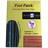 Amazheal Foot Pads for Stress Relief Sleep - Remove Toxins, Rest and Pain Free, Premium Organic Adhesive (Golden) Foot Patches (Pack of 20 Pec For 10 Day)