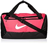 Nike NK BRSLA S DUFF-9.0 Gym Bag, Rush Pink/Black/White, 51 cm