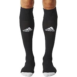 adidas Milano 16 Sock - Medias para hombre, multicolor ( NEGRO / BLANCO), talla 43-45 EU