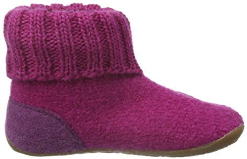 Haflinger Sweety, Chaussons fille Rose - Pink (Inka 30)