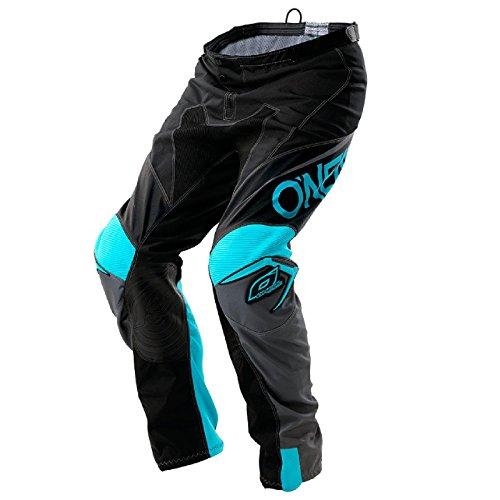 O'Neal Mayhem Lite Blocker MX Motocross Hose Pant Enduro Offroad Motorrad Quad Cross Ledereinsatz, 0130A, Farbe Schwarz, Größe 28 (Motorrad-hose Off-road)