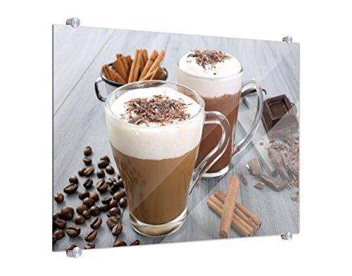 Klebefieber Spritzschutz Heiße Schokolade B x H: 80cm x 60cm