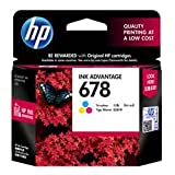 #8: HP 678 Tri-color Ink Cartridge