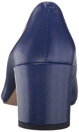 Blu Nove Cuoio Donne Vestito Franny Ovest Pompa wEnwYHqrx