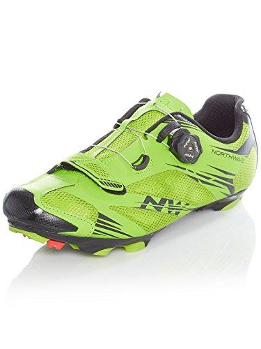 Northwave Scorpius 2 Plus MTB Fahrrad Schuhe grün/schwarz 2018: Größe: 44