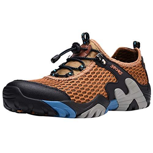 Oyedens Scarpe da Trekking Uomo Donna Arrampicata Sportive All'aperto Escursionismo Sneakers