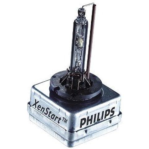 Philips BlueVision ultra Bombilla para faros delanteros de coche de xenón 85415BVUC1 - bombilla para coches (35 W, D1S,
