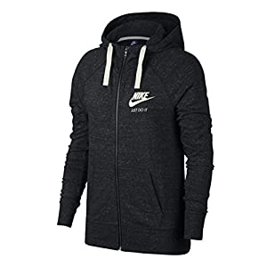 Nike Damen Sportswear Gym Vintage Hoodie Full-zip-883729 Sweatshirt