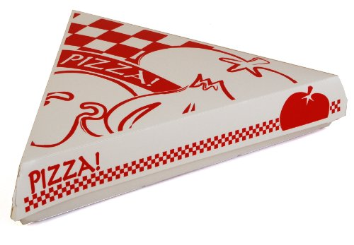 Southern Champion Tablett Karton Pizza Slice Clamshell Food Container (Fall von 400), Gourmet Pizza Print, 400