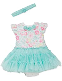 Little Me Tutu Popover Dress with Headband (9 Months