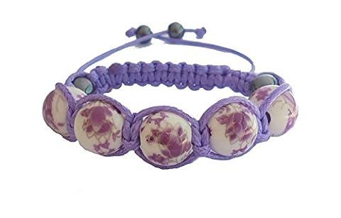 Shamballa Bracelet Enfant Céramique (Fille) (Fille 6-12 ans)