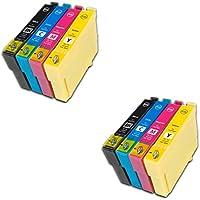 Prestige Cartridge Epson 18XL 8 Cartucce d'Inchiostro Compatibile per Stampanti