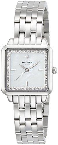 Kate Spade Femme 25mm Bracelet & Boitier Acier Inoxydable Automatique Cadran Nacre Montre KSW1114