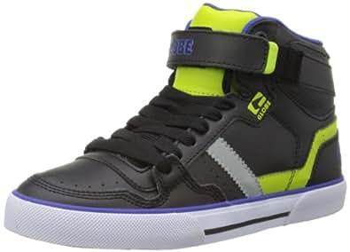 Globe Superfly-Vulcan GBSUPV Unisex-Erwachsene Sneaker, Schwarz (black/lime 10246), EU 42.5(UK 8.5)(US 9.5)
