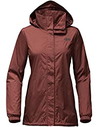 The North Face Resolve Parka para Mujer, Rojo (Sequoia Red)