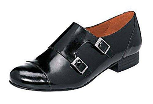 Pantofola Donna Pelle nappa di Patrizia Dini Nero