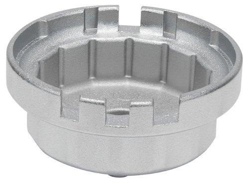 KS Tools 150.9211 Cloche filtre à huile 3/8″ 64,5mm 14 pans 3 encoches du coffret 150.9210 pas cher