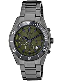(CERTIFIED REFURBISHED) Bulova Marine Star Analog Green Dial Men's Watch - 98B206