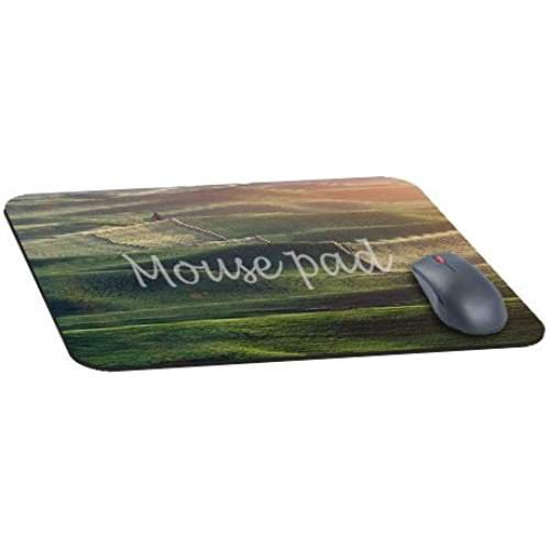 office-rectangle-mouse-pad-with-field-nature-green-flower-wood-earth-morning-flare-image-cloth-cover