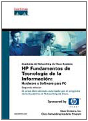 HP fundamentos de tecnología de la información : hardware y software para PC (Cisco Press) -
