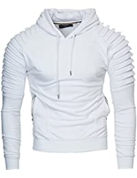 KAYHAN Homme Hoodie Capuche Pullover, Manches Longues Modell - NEW YORK