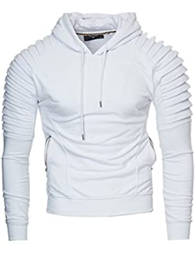 KAYHAN Herren Hoodie Kapuzenjacke Sweatshirt
