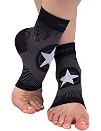 Tobillera de compresión, ideal para el tratamiento de la fascitis plantar y como soporte para el pie y tobillo, mediano