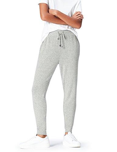 FIND Pantalones de Deporte para Mujer , Gris (Grey Marl), 38 (Talla del fabricante: Small)