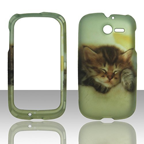2d-katzchen-huawei-ascend-y-m866-tracfone-us-cellular-schutzhulle-hard-case-snap-on-cover-gummierte-