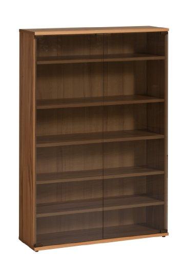 MAJA-Möbel 1887 5543 Medienregal, Kernbuche-Nachbildung, Abmessungen BxHxT: 75 x 110 x 24 cm (Regal 24 X 24 Cm)