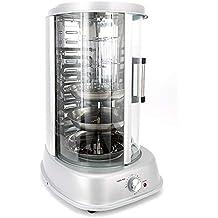 4 En Uno Parrilla Eléctrica Rotativa Asador De Parrilla Pollo Carne Vegetales Grill Master 1500 W