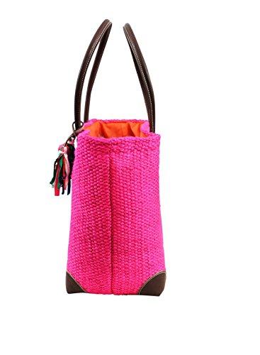 borsa da spiaggia Banana Moon Aniston Lemnos Rosa Rosa