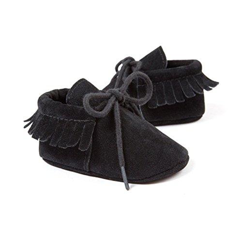 Etrack-Online  Baby Sneakers, Baby Jungen Lauflernschuhe Schwarz