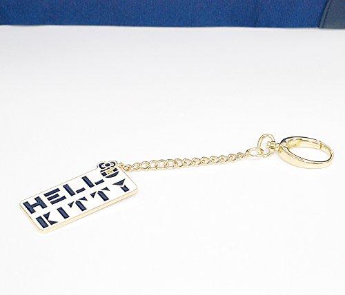 Hello Kitty - Travel Bag in tela Bianco/Blu