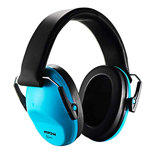 Mpow Casque Anti-bruit Enfant Adulte Pliable Réglable avec Sac Transport, Casques Antibruit à Protection Auditive de Réduction du Bruit pour Concert/Feu d'Artifice, Cache-Oreille NRR 25dB/SNR 29dB
