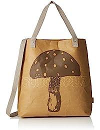 Glückspilz® Einkaufstasche veganes Leder