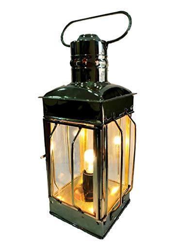 Nautisches Messing Laterne Elektrische Lampe Dekorative Hängelaterne Marine Schiff Lampe (Messing Laterne Nautische)