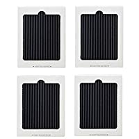 Refrigerator Air Filter Replacement Set of 4, Activated-Carbon Air Filter Activated, Fits for Frigidaire PAULTRA Pure Air Ultra & Electrolux EAFCBF 242047801,242061001,7241754001