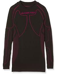 Alpine Pro Camiseta Interior Krioso Negro / Fucsia 10/11 años (L)